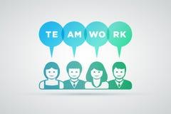 Teamworkbegrepp Royaltyfria Bilder
