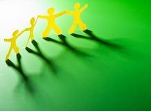 Teamworking begrepp Fotografering för Bildbyråer