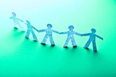 Teamworking pojęcie Fotografia Stock