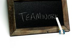 Teamworkritbord Royaltyfria Foton