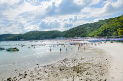 Tean海滩泰国 图库摄影