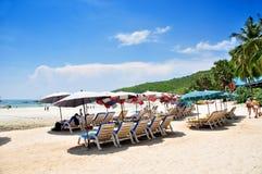 Tean-Strand bei Koh Larn Pattaya Stockfotos