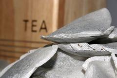 Teapåsar royaltyfri fotografi