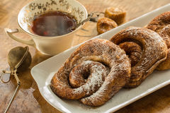 Teaparty с болусом zeeuwse Стоковые Изображения