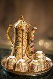 Teapot και φλυτζάνα τσαγιού Στοκ φωτογραφίες με δικαίωμα ελεύθερης χρήσης