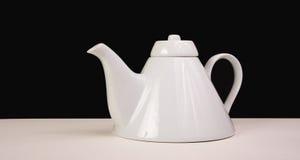 teapot λευκό Στοκ Φωτογραφίες