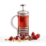 Teapot με το τσάι Στοκ Εικόνες