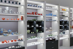 Teapot πολυτέλειας κατάστημα στο Ταιπέι 101 κτήριο Στοκ εικόνα με δικαίωμα ελεύθερης χρήσης