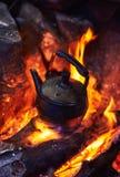 Teapot πυρών προσκόπων Στοκ Εικόνες