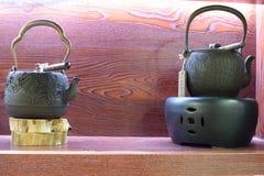 Teapot σιδήρου Στοκ φωτογραφία με δικαίωμα ελεύθερης χρήσης