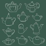 Teapot στοιχεία Στοκ φωτογραφία με δικαίωμα ελεύθερης χρήσης