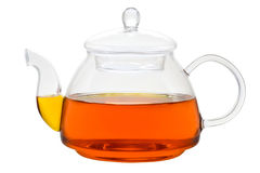 teapot τσαγιού γυαλιού στοκ φωτογραφία με δικαίωμα ελεύθερης χρήσης