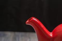 Teapot τσαγιού κατσαρόλα δοχείων Στοκ Φωτογραφίες