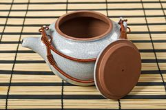 teapot τσαγιού σφραγίδων Στοκ εικόνα με δικαίωμα ελεύθερης χρήσης