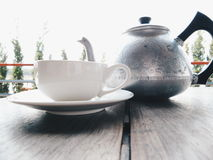 teapot φλυτζανιών Στοκ Φωτογραφία