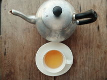 teapot φλυτζανιών Στοκ φωτογραφία με δικαίωμα ελεύθερης χρήσης