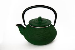 Teapot 03. Green Chinese teapot. Symbolizes peace, silence, wisdom Royalty Free Stock Photo