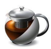 teapot Royaltyfri Fotografi