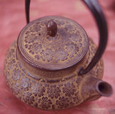 Teapot. Food , drinks, beverages,cookery Stock Photos