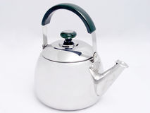 Teapot. Metal Royalty Free Stock Photography