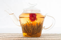 πράσινο teapot τσαγιού Στοκ φωτογραφία με δικαίωμα ελεύθερης χρήσης
