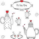 teapot Ilustração Royalty Free
