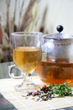 Teapot And Tea Cup Royalty Free Stock Image