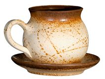 Teapot cerâmico Imagem de Stock Royalty Free