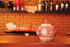 Teapot chinês. Fotografia de Stock