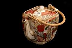Teapot chinês antigo. Imagem de Stock