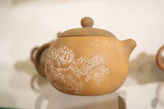 The teapot, in china Stock Photo