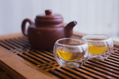 Teapot with Chinese tea Royalty Free Stock Photography