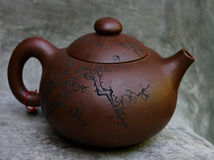 Teapot for chinese tea Royalty Free Stock Image