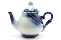 Teapot close-up Stock Photo