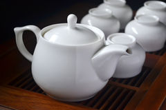 Teapot closeup Royalty Free Stock Images
