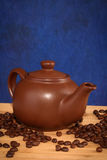Teapot with coffee Royalty Free Stock Photo