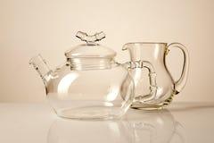 Teapot and creamer Stock Photos
