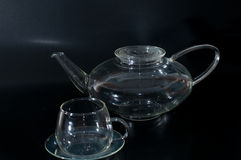Teapot and cup Royalty Free Stock Photography