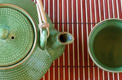Teapot and cup 2 Stock Photography