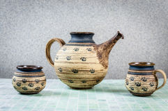 Teapot with cup Royalty Free Stock Photography