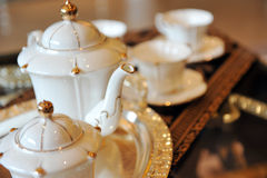 Teapot and cups Royalty Free Stock Photography