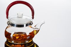 Teapot with cups Royalty Free Stock Photography