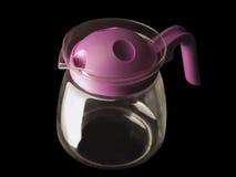 Teapot de vidro Fotografia de Stock