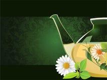 Teapot de vidro. Fotos de Stock