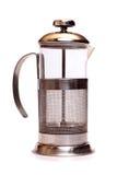Teapot de vidro Imagem de Stock Royalty Free