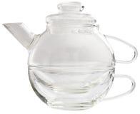 Teapot de vidro Foto de Stock