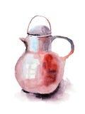Teapot do vintage Fotografia de Stock