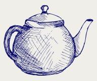 Teapot. Doodle style Royalty Free Stock Photos