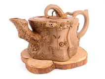 teapot drzewo Obrazy Stock