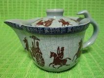 Teapot Hieroglyphics από Kambas Στοκ Φωτογραφία